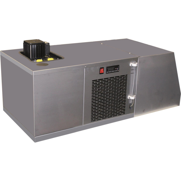 Satelliten Kühlgerät Satellitenkühlgerät Aufsatzkühlgerät Faßkühler Fassvorkühler
