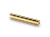 Metallstab Rundstab - Messing-Design - 6mm - im Zuschnitt