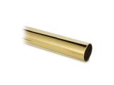 Edelstahlrohr Rundrohr - Messing-Design - 25,4mm (1 Zoll)...