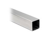 Vierkantrohr - Edelstahl-Design - 35x35mm - im Zuschnitt