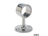 Rohrhalter Edelstahl für Durchmesser 25,4 mm