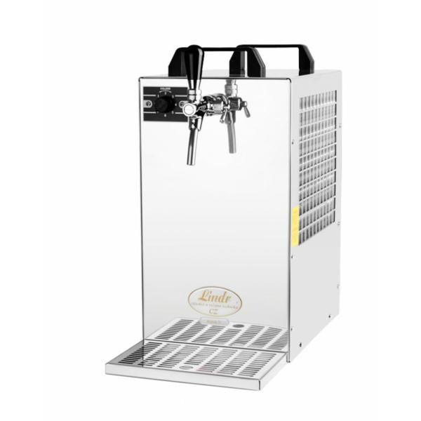 Bierkühler Bierzapfanlage 90 Liter/h 1-ltg mit Membranpumpe Bier Zapfen ohne CO2