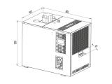 Bierkühler Zapfanlage Bierzapfanlage Untertisch Nasskühler 200 L/h NK-200