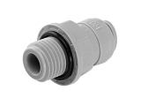 Einschraubverbinder - grau - Gewinde BSP-P 1/2 Zoll AG -...