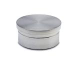 Endkappe flach Edelstahl Design für Rohr 50,8 mm