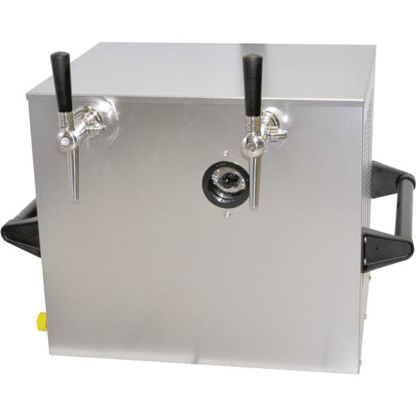 Obertheken Bierkühler Zapfanlage Bierzapfanlage Trockenkühler 130 Liter/h