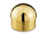 Endkappe rund Messing Design für Rohr 25,4 mm