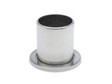 Rohrbefestigung Edelstahl Design für Rohr 19,0 mm
