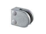 Glasklemme flach Modell 20 - roh - Zinkdruckguss - 6mm -...