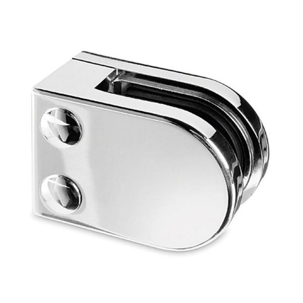 Glasklemme flach Modell 22 - Chrom-Design