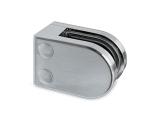 Glasklemme flach Modell 22 - Edelstahl-Design