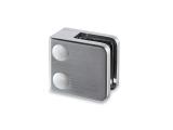 Glasklemme flach Modell 23 - Edelstahl-Design