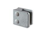 Glasklemme flach Modell 23 - roh - Zinkdruckguss - 8mm -...