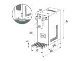 Tafelwassergerät Karbonator für Sprudelwasser...
