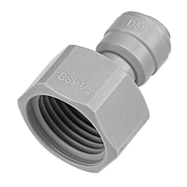 Aufschraubverbinder aus Acetal für Schläuche & Rohre