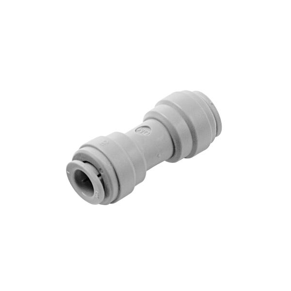 Gerader Verbinder Doppel Steckverbinder aus Acetal gerade für Schläuche & Rohre
