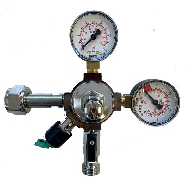 Druckminderer Druckregler mit Inhaltsanzeiger 1-leitig 7bar für Tafelwassergeräte