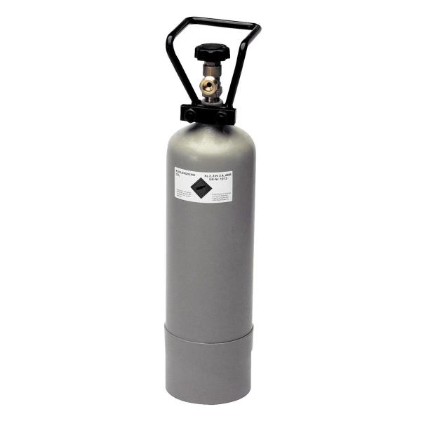 Kohlensäureflasche CO2 Flaschen für Getränke mit Füllung 6 kg & TÜV-Zulassung