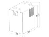 Tafelwassergerät Untertisch 25 L mit Kühlung mit Zapfstelle & allem Zubehör SET