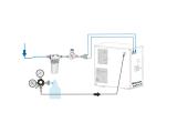 Tafelwassergerät Wasserzapfanlage Trinkwasser Sprudelwasser WZN-45