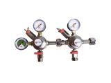 CO2 2-leitig Micro Matic Druckminderer Druckminderventil...