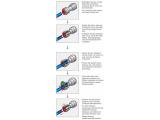 Rückschlagventil Rückflußverhinderer aus Acetal für Schläuche & Rohre
