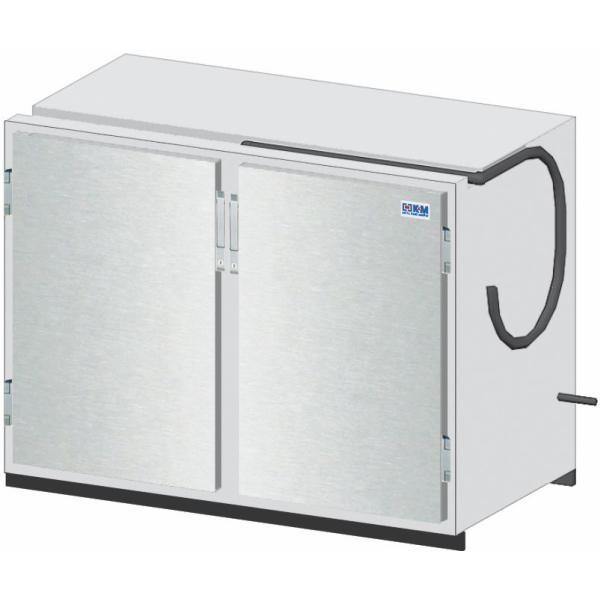 Getränketheke Kühltheke Bauteil ohne Kältesatz Vario - 1210mm breit - 650mm tief