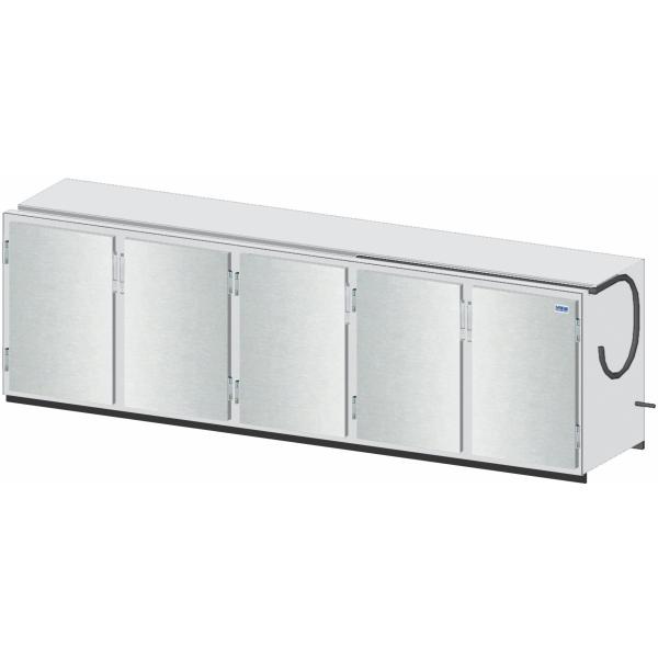Getränketheke Kühltheke Bauteil ohne Kältesatz Vario - 3010mm breit - 650mm tief