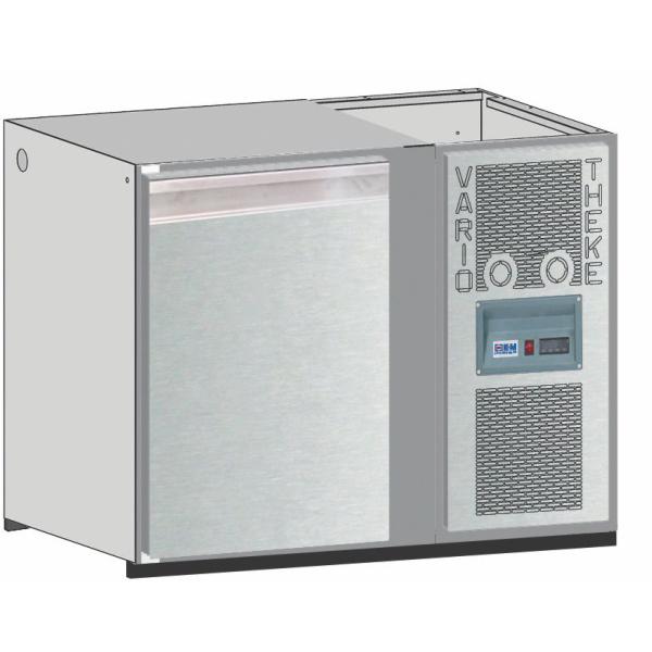 Getränketheke Kühltheke Bauteil Unterbaukühlung Vario - 1200mm breit 650mm tief