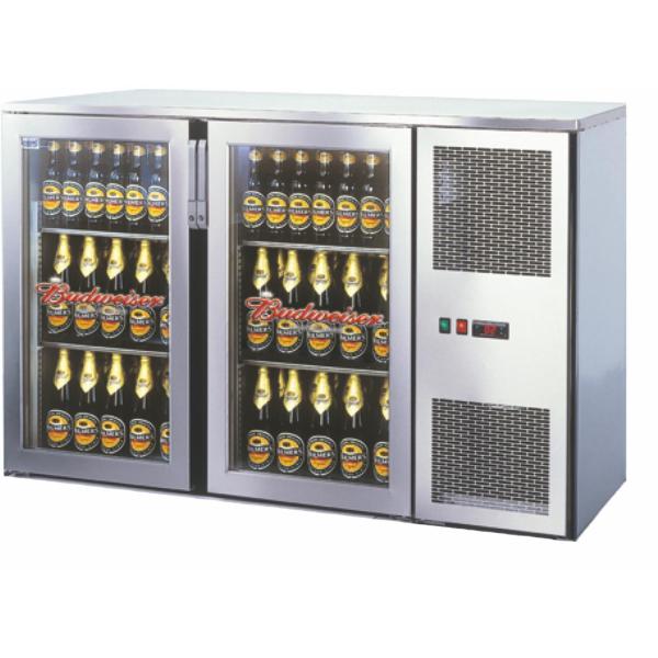 Getränketheke Kühltheke Unterbaukühlung MiniMax - 1440mm breit - 400mm tief