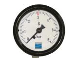 Kontrolluhr Kontrollmanometer für CO2 zum Einbau in...