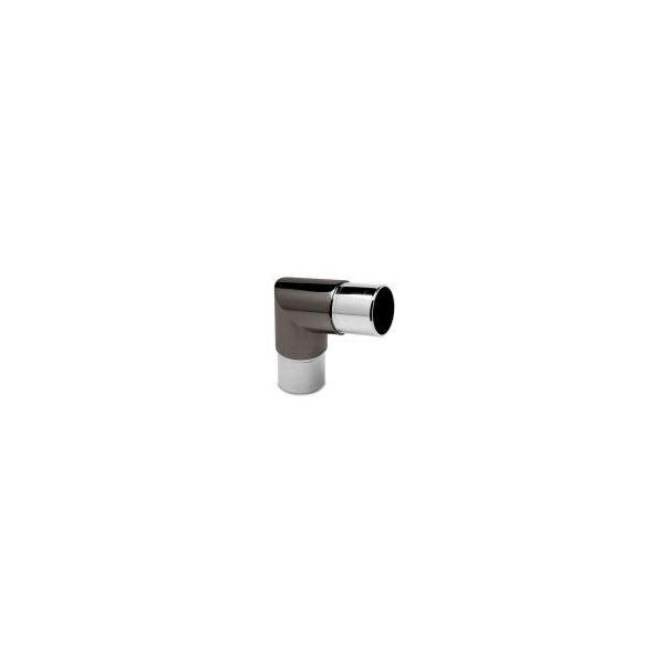 80 Grad Rohrverbinder Anthrazit Design für 38,1 mm Rohre