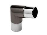 80 Grad Rohrverbinder Anthrazit Design für 38,1 mm...