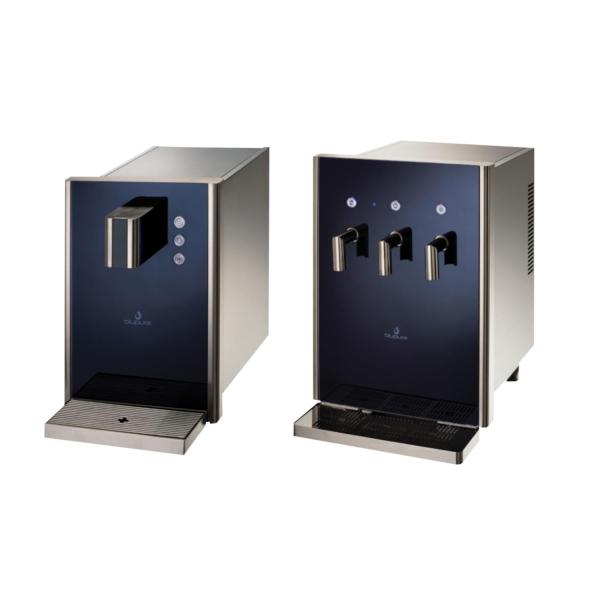 Tafelwassergerät Wasserzapfanlage Trinkwassersprudler Auftisch Bluglass fizz