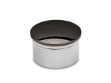 Endkappe Anthrazit Design gewölbt für 25,4 und 38,1 mm Rohre