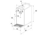 Bierkühler Bierzapfanlage 60 Liter/h - 2-leitig - Durchlaufkühler - KOMPLETTSET