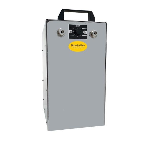 Untertisch Bierkühler Zapfanlage Bierzapfanlage Trockenkühler 100 Liter/h BK-100