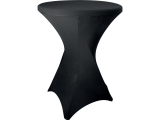 Husse schwarz für Party-Stehtisch