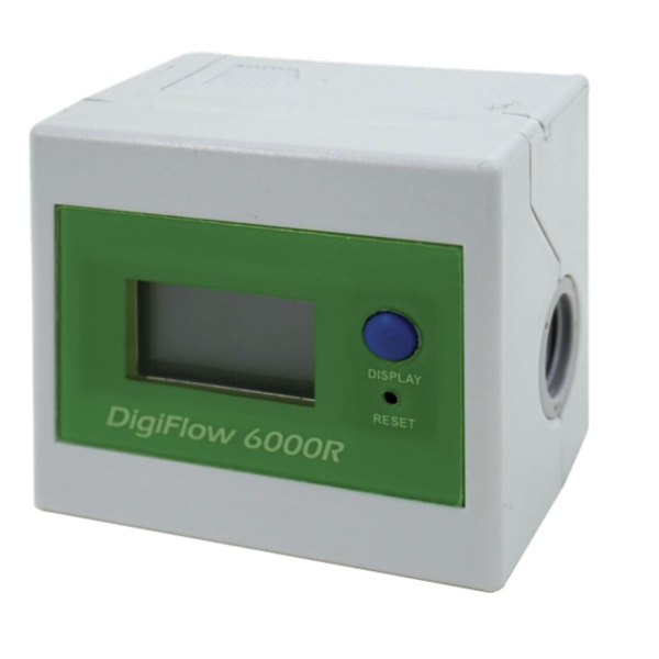 Wasserzähler Digitaler Literzähler aufwärts 6000R