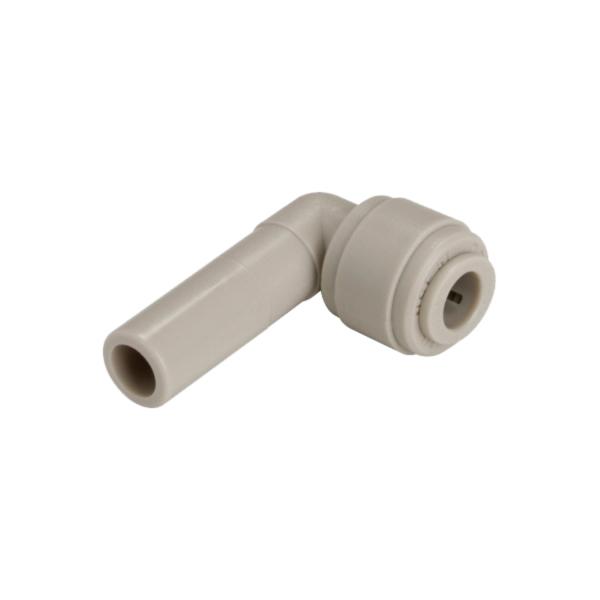 Einsteck Winkelverbinder 90 Grad - Schläuche Rohre 5/16 Zoll - Stutzen 1/4 Zoll