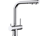 Wasserhahn Küchenarmatur Wasserarmatur - Blanco FONTAS II - 3-Wege L-Auslauf