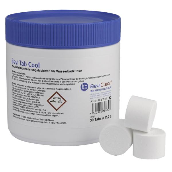 Bevi Tab Cool - Tabletten zum Regenerieren für Wasserbadkühler