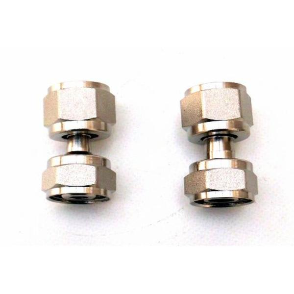 Verbindungsstück Doppelverschraubung gerade 5/8 Zoll - 7mm oder 10 mm
