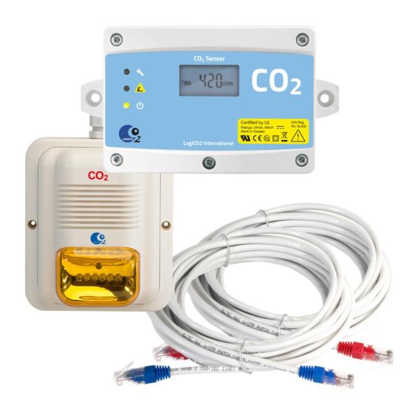 LogiCO2 Erweiterung Gaswarnanlage CO2 Sensorsatz Mk9 für Mk9 4A