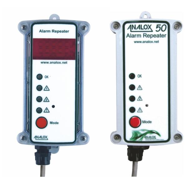 Analox AX50/50M Gaswarngerät - Ersatz LED Fernalarmgeber Fernanzeige