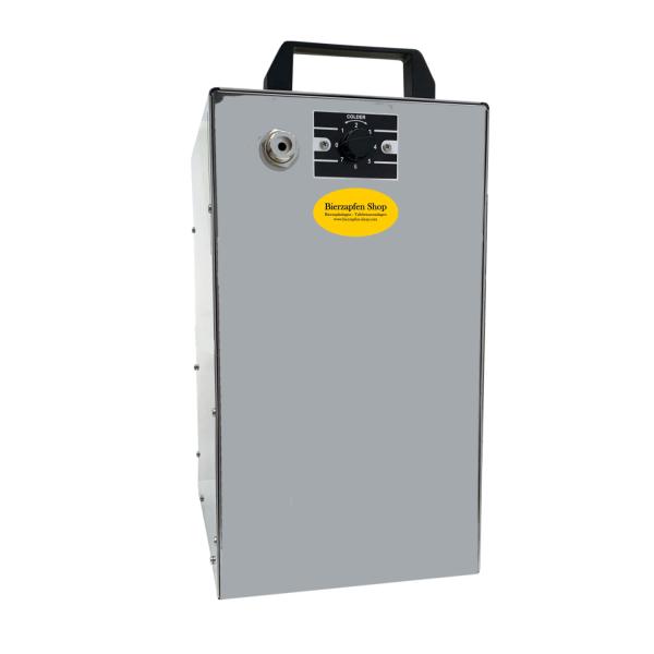 Untertisch Bierkühler Zapfanlage Bierzapfanlage Trockenkühler 120 Liter/h BK-120