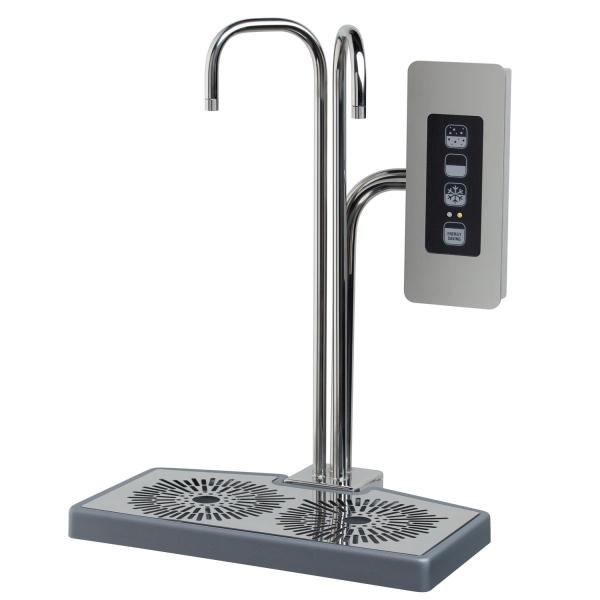 Wasserspender Tafelwasser Zapfanlage blupura TOP CONTROL aus Edelstahl