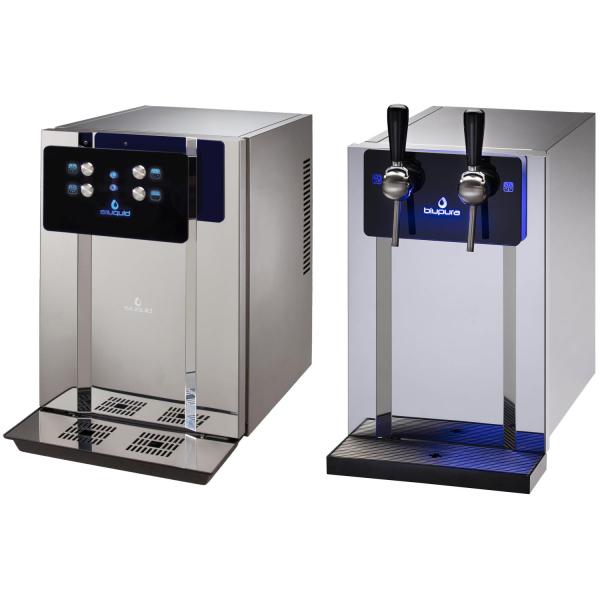 Tafelwassergerät Wasserzapfanlage Trinkwasser Sprudelwasser blupura BluBar fizz