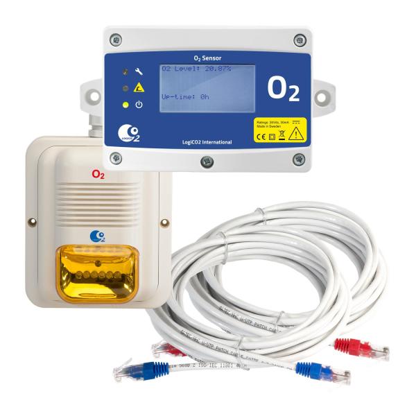 LogiCO2 Erweiterung Gaswarnanlage O2 Sensorsatz Mk9 für Mk9 4A
