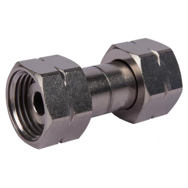 Verbindungsstück - 20mm zwischen beiden 1/2 Zoll Sechskantmuttern